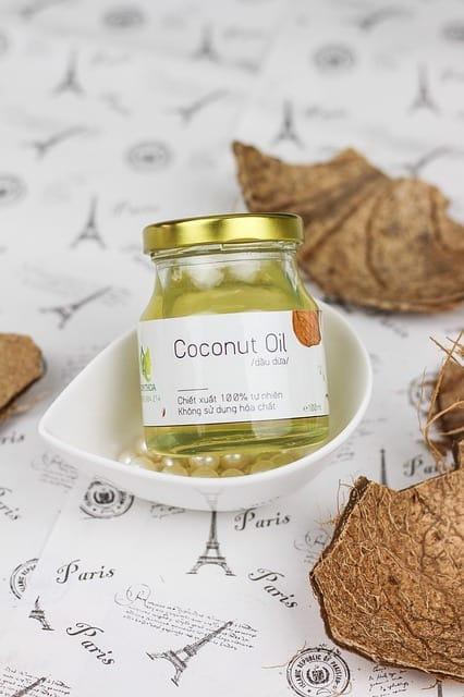 Geschmolzenes Kokosöl