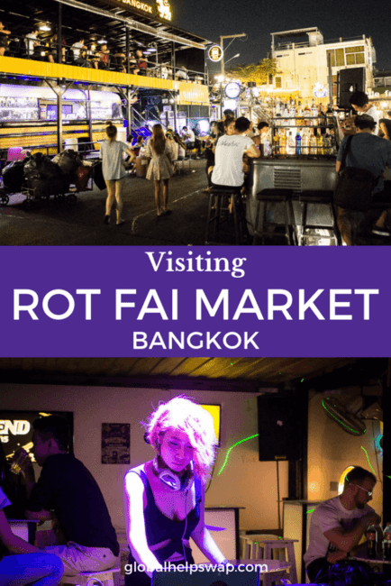 If you are looking for an authentic market in Bangkok then check out Rot Fai Market also known as The Train Market. It is full of great stalls selling food, drinks and vintage collectables. There is also live music & hip bars for you to enjoy.