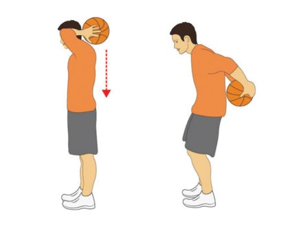 Behind the Back Catch Basketball Ballhandling Drill