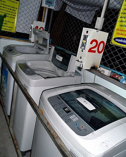 Coin-operated Washing Machines in Thailand