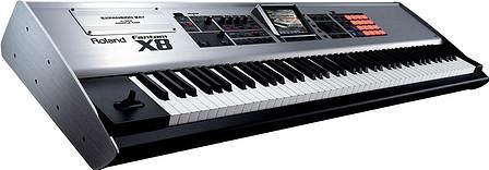 Hire keyboard, Roland Fantom X8 workstation, Roland keyboard hire