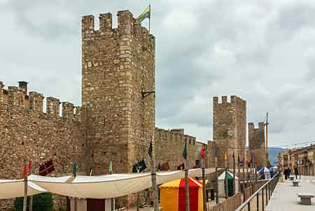medieval festival in montblanc spain