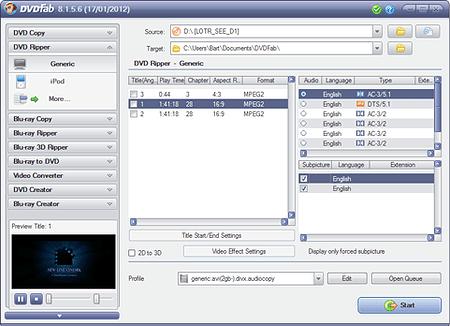 Beste DVD naar divX software