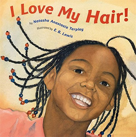 christmas gifts for natural kids, I Love My Hair Book