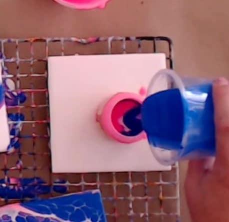 Easy Paintings for beginners prepare paint cup