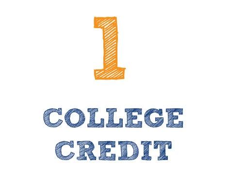 1 College Credit