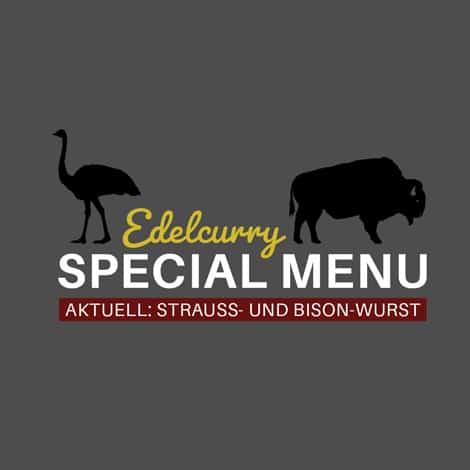 Specials Straussen und Bisonwurst