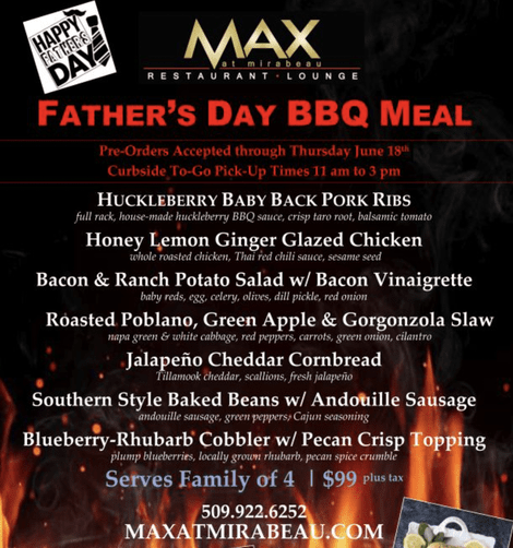 fathers day events in spokane