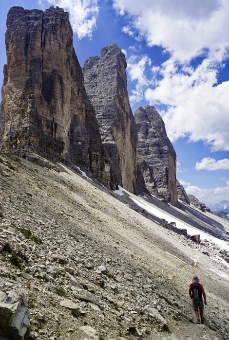 Tre Cime, Dolomites, Italy - Experiencing the Globe