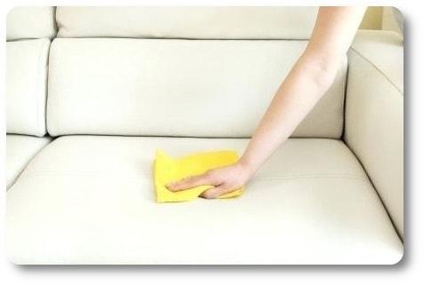 czyszczenie sztucznej skóry
