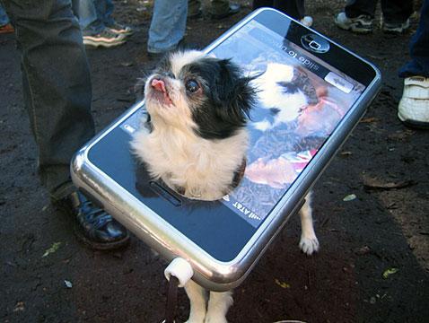 iPhone Dog Halloween Costume