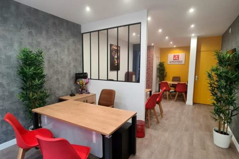 Rénovation d'agence La Residence à Beaumont sur Oise