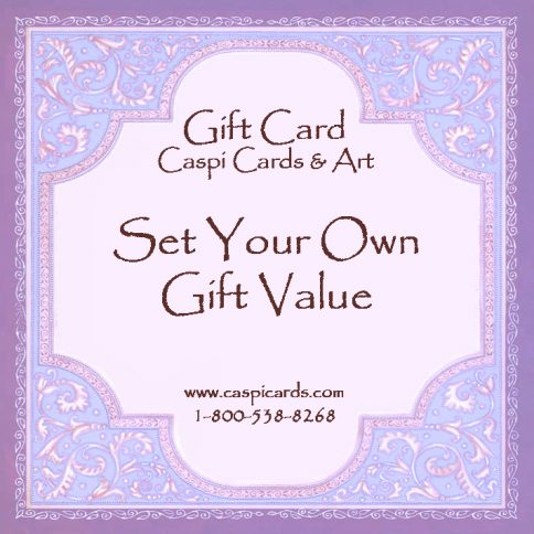 Set Your Own Value Gift Card