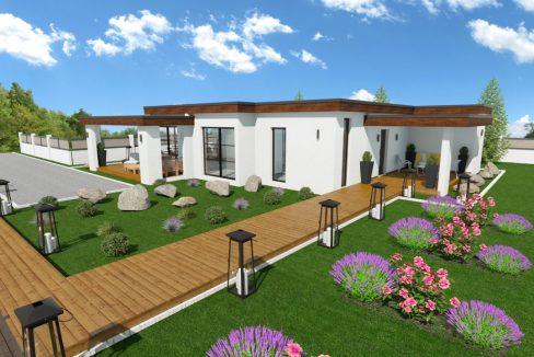 Montažna hiša Antonia