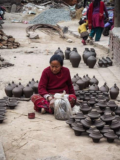 Pottery Square Bhaktapur