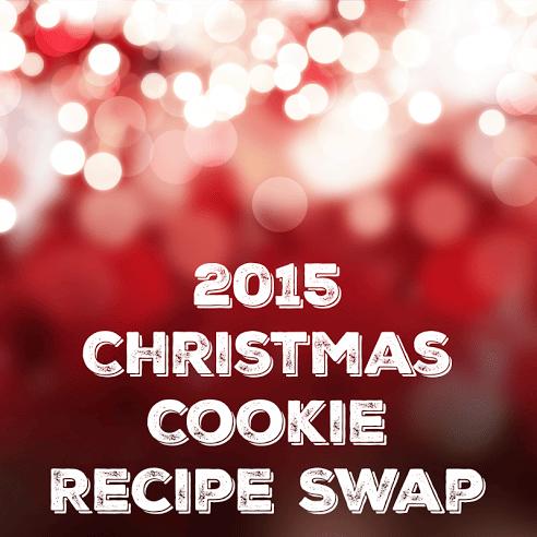 2015 Christmas Cookie Recipe Swap