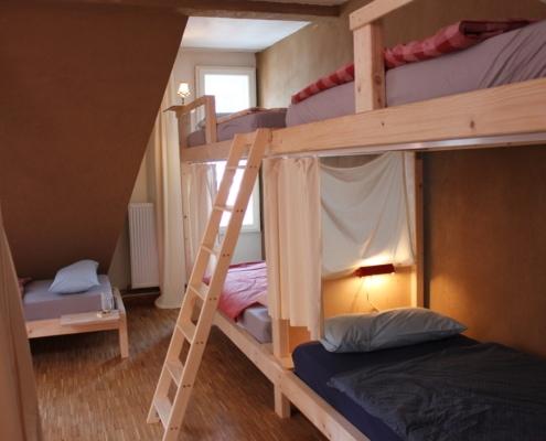 Hostel Zimmer im schickSAAL Hostel Lübeck