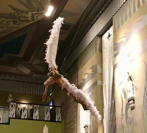 image of A flying dragon for the Haunted Hallows concert