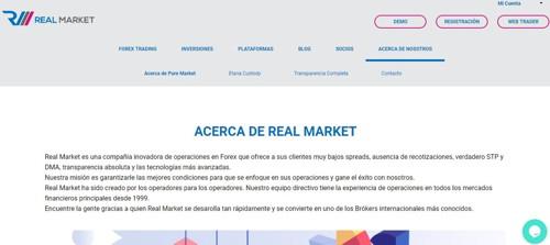 Real market pagina web