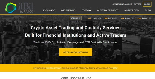 itbit pagina web