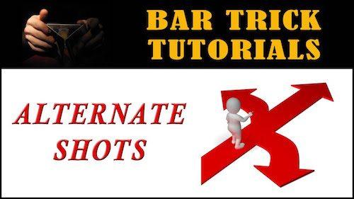 bar tricks alternating shots