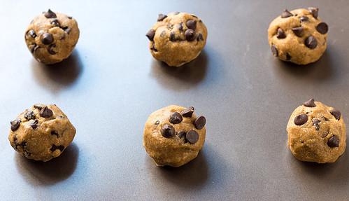Chocolate Chip Cookie Balls