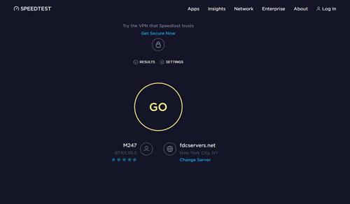 Website after using Cyberghost Adblock