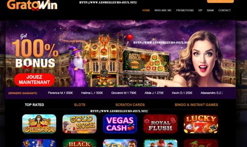 Gratowin página web