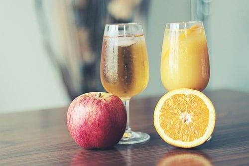 Orangensaft Fruchtzucker