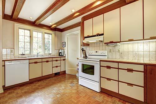 80s kitchen
