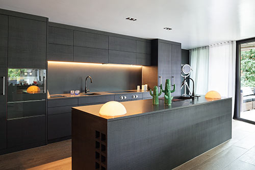 modern back kitchen