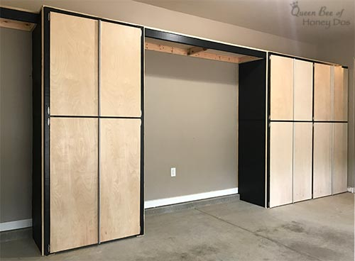 enclosed shelves