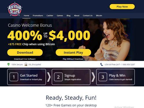 All Star Slots Casino revision