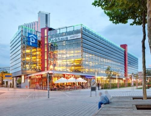 Cityparkhaus Chemnitz – Architekturfotografie