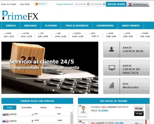 Prime FX – PFX Bank