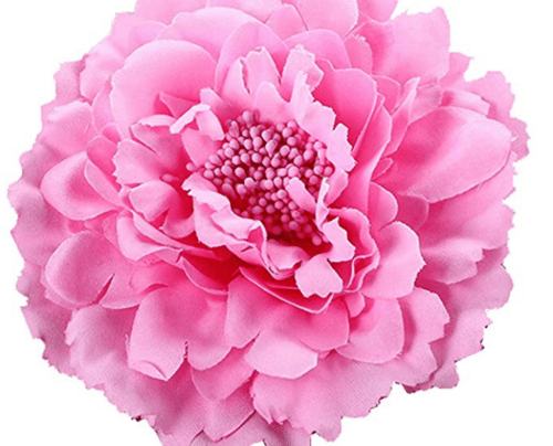 hair accessory Floral Fall Peony Flower Hair Clip