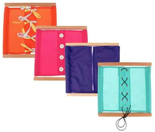 Cadres d'habillage - Matériel Montessori