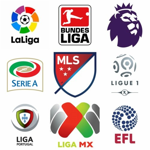 soccer leagues and competitions on US TV