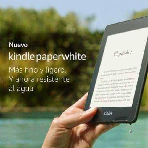Nuevo Kindle Paperwhite Resistente al Agua