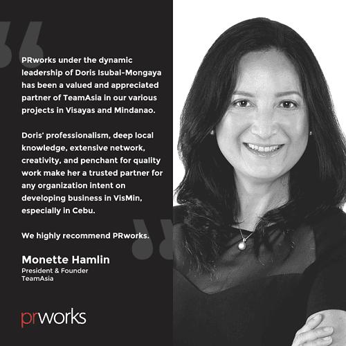 Monetter Hamlin endorses PRWorks