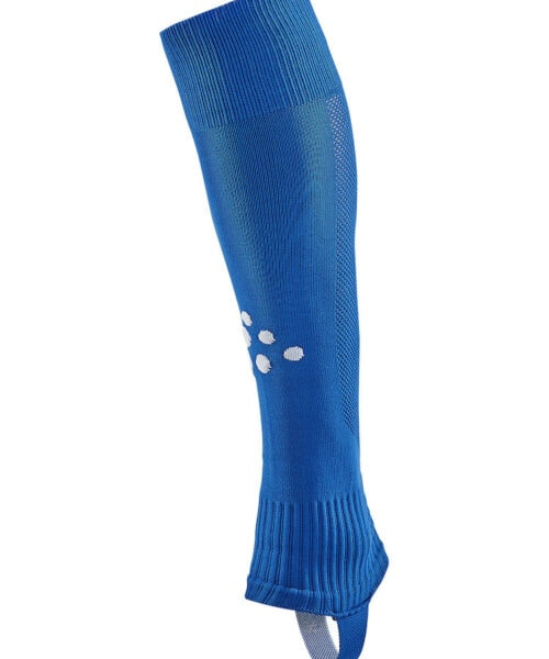 Footless sock made of functional and durable fabric. Thinner knit at the back for enhanced breathability.