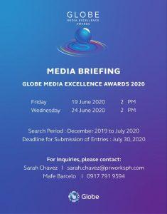 Globe Media Excellence Awards 2020