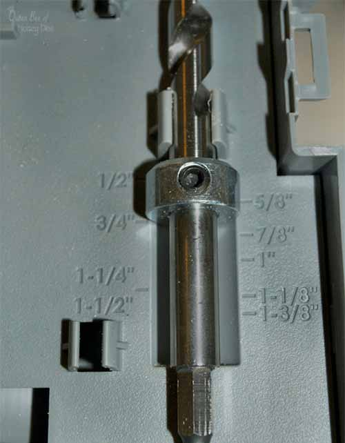 Kreg R3 drill bit with collar