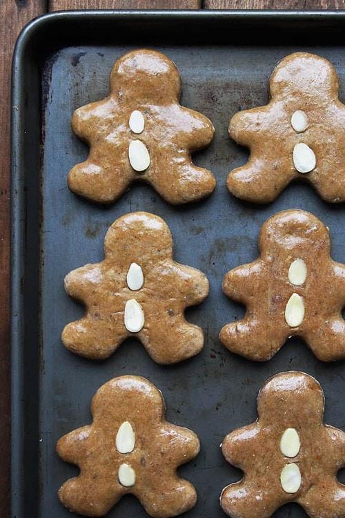 Lebkuchen - German GIngerbread Cookies