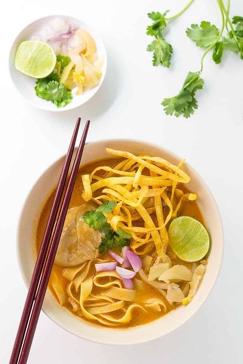 Bowl of Khao Soi