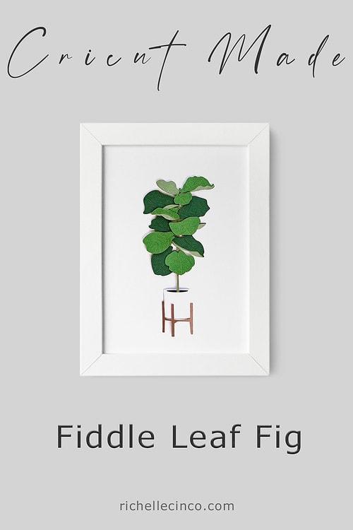 Fiddle Leaf Fig In A Frame