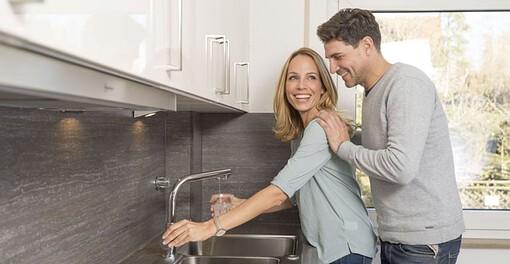 Wasserfilter für den Wasserhahn Leitungswasser trinken permaster sanus Wassershop Trinkwasserfilter