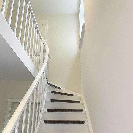 ... und die Treppe nachher
