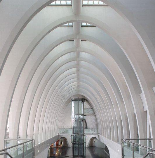 Robert Mehl Lüttich TGV Bahnhof