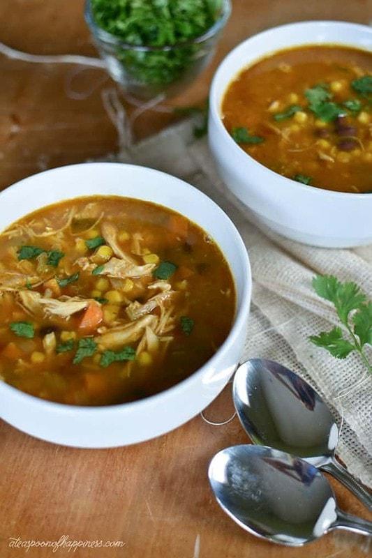 Chipotle Chicken Pumpkin Soup